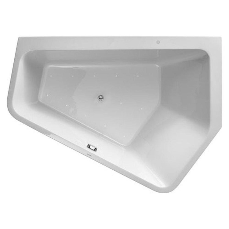 Duravit PAIOVA 5 vasca idromassaggio 190x140cm installazione ad angolo a dx con sistema aria, colore bianco 760397000AS0000