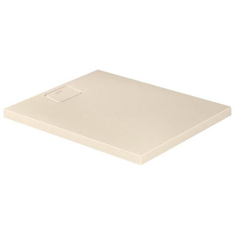 Duravit STONETTO piatto doccia rettangolare L.80 P.100 cm, colore sabbia 720147480000000