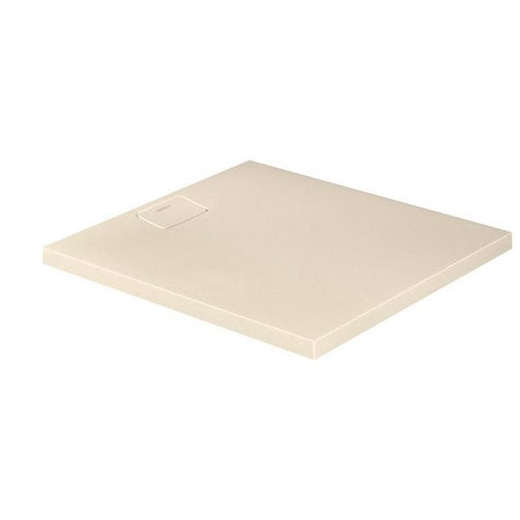 Duravit STONETTO piatto doccia rettangolare L.90 P.100 cm, colore sabbia 720166480000000