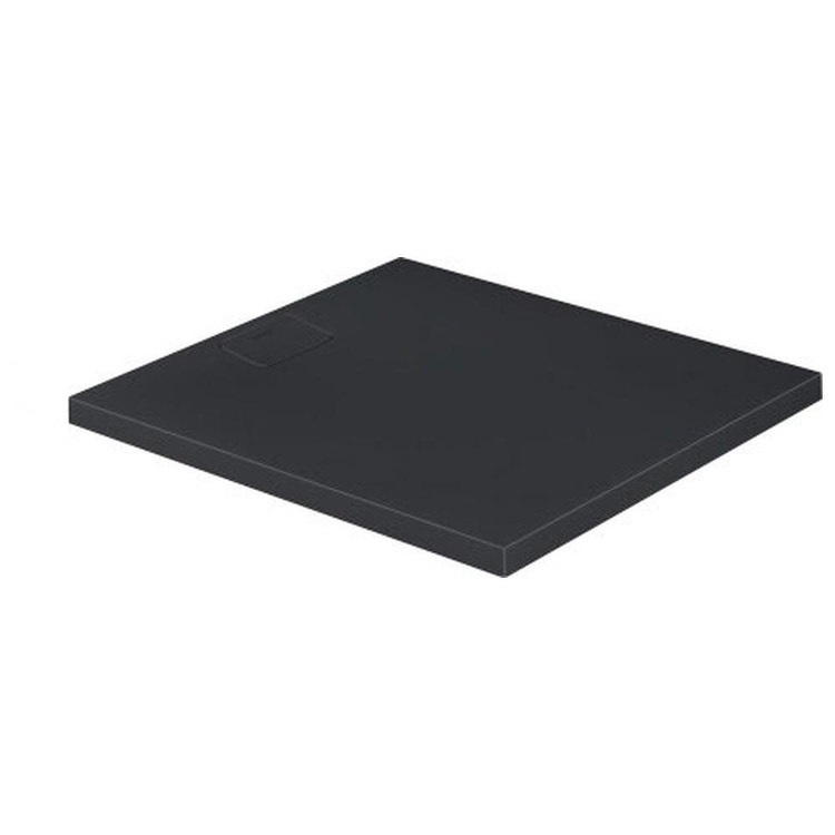 Duravit STONETTO piatto doccia rettangolare L.90 P.100 cm, colore antracite 720166680000000