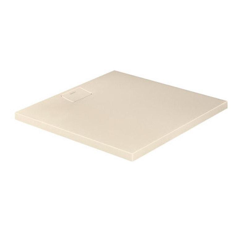 Duravit STONETTO piatto doccia quadrato 100 cm, colore sabbia 720167480000000