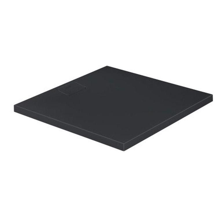 Duravit STONETTO piatto doccia quadrato 100 cm, colore antracite 720167680000000