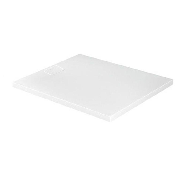 Duravit STONETTO piatto doccia rettangolare L.100 P.120 cm, colore bianco 720168380000000