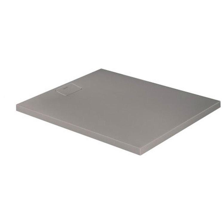 Duravit STONETTO piatto doccia rettangolare L.100 P.120 cm, colore grigio cemento 720168180000000