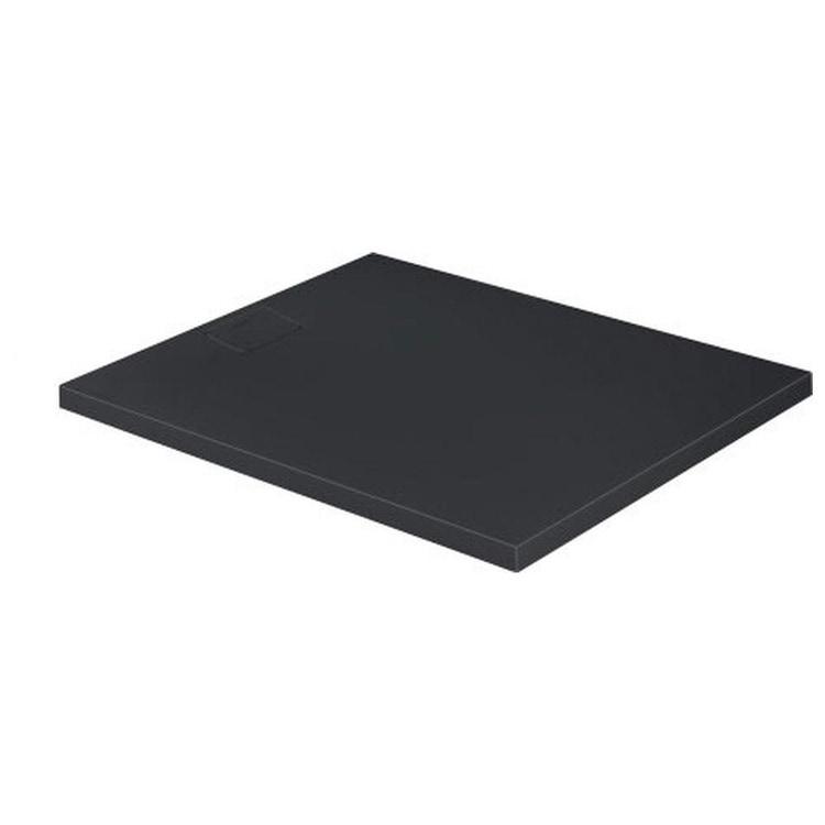Duravit STONETTO piatto doccia rettangolare L.100 P.120 cm, colore antracite 720168680000000