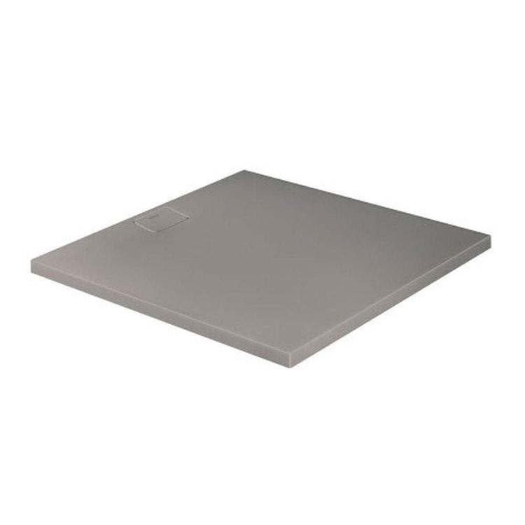 Duravit STONETTO piatto doccia quadrato 120 cm, colore grigio cemento 720169180000000