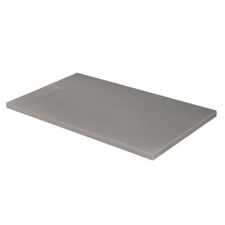 Duravit STONETTO piatto doccia rettangolare L.100 P.160 cm, colore grigio cemento 720171180000000