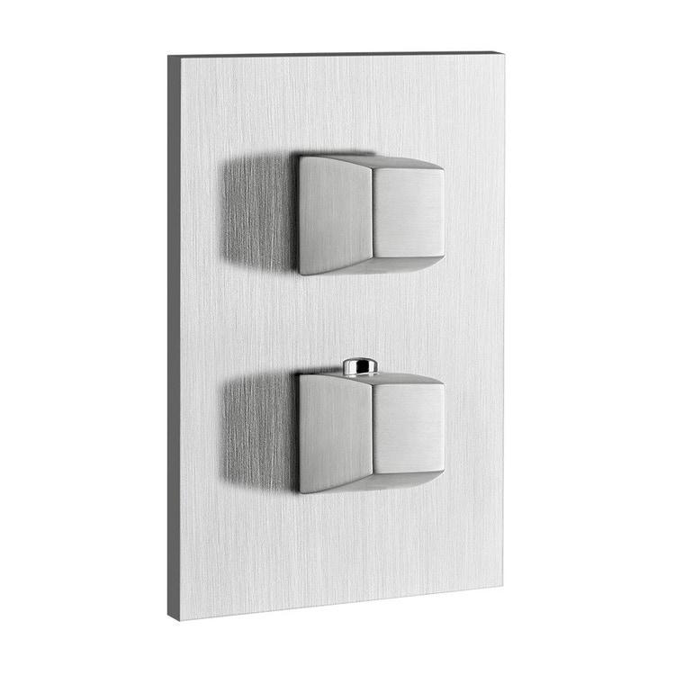 Immagine di Gessi MIMI miscelatore termostatico per doccia, a parete, 1 uscita, finitura gold CCP 31292#080
