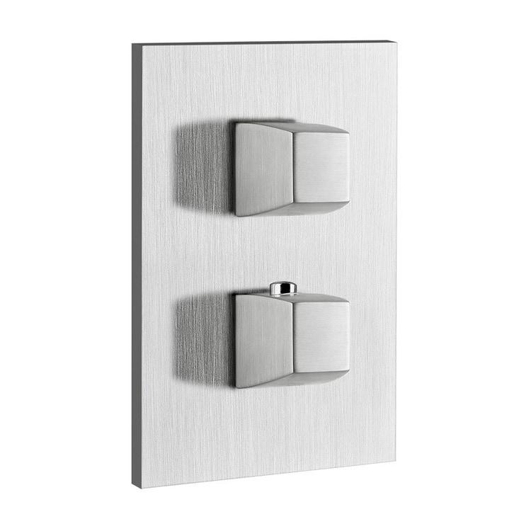 Immagine di Gessi MIMI miscelatore termostatico per doccia, a parete, 3 uscite, finitura gold CCP 31296#080