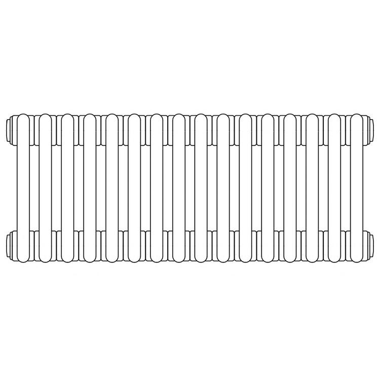 Irsap TESI 3 radiatore per sostituzione L, 16 elementi 79,5x72x10,1cm, bianco RT307951601IRNON01