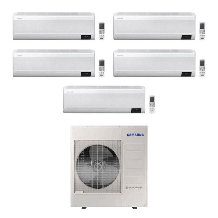 Samsung WINDFREE AVANT R32 Climatizzatore a parete penta split inverter Wi-Fi bianco   unità esterna 10 kW unità interne 7000+7000+7000+7000+7000 BTU AJ100TXJ5KG/EU+AR[20 20 20 20 20]TXEAAWKNEU