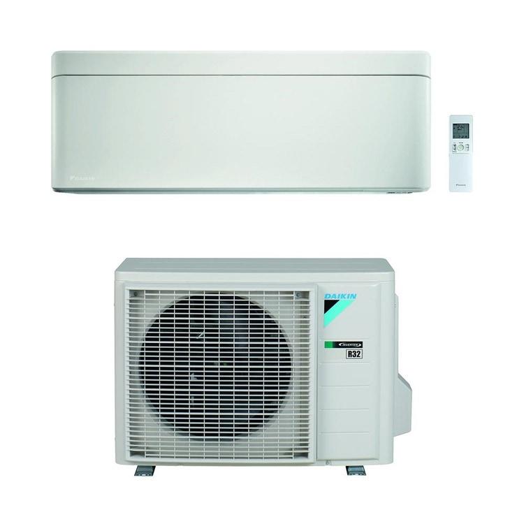 Daikin STYLISH R32 Climatizzatore a parete monosplit inverter Wi-Fi, bianco | unità esterna 2.5 kW unità interna 9000 BTU SB.FTXA25AW/RXAA