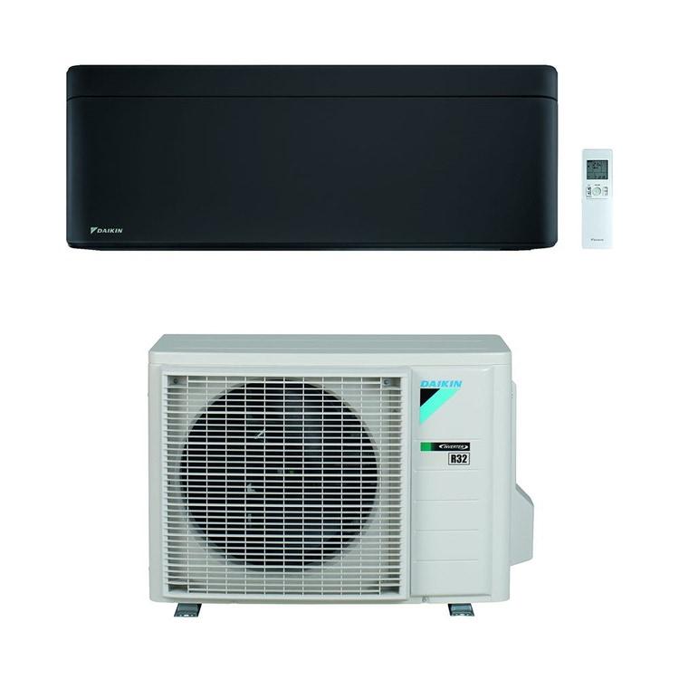 Daikin STYLISH R32 Climatizzatore a parete monosplit inverter Wi-Fi, nero   unità esterna 2.5 kW unità interna 9000 BTU SB.FTXA25BB/RXA