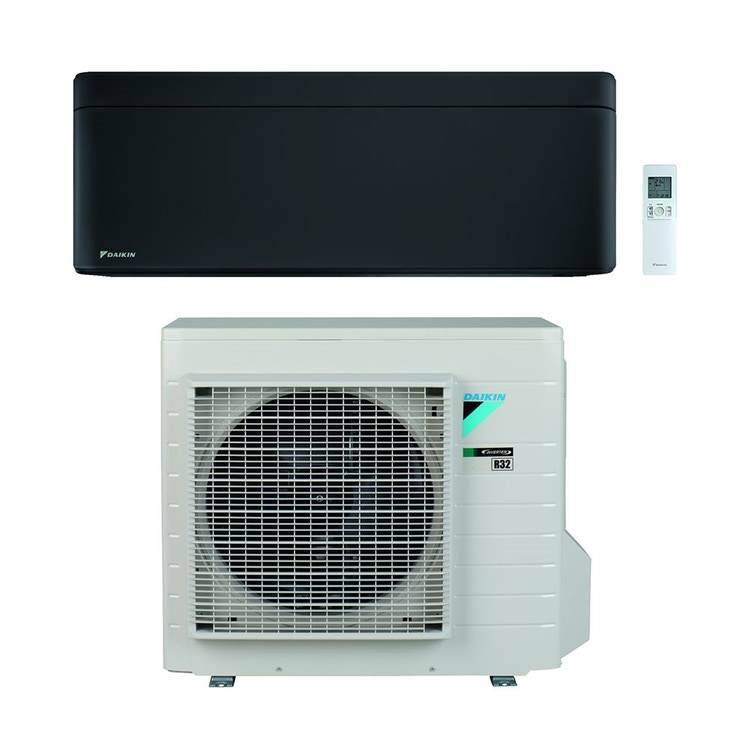 Daikin STYLISH R32 Climatizzatore a parete monosplit inverter Wi-Fi, nero | unità esterna 5 kW unità interna 18000 BTU SB.FTXA50BB/RXA