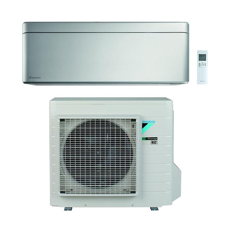Daikin STYLISH R32 Climatizzatore a parete monosplit inverter Wi-Fi, silver | unità esterna 4.2 kW unità interna 15000 BTU SB.FTXA42BS/RXA