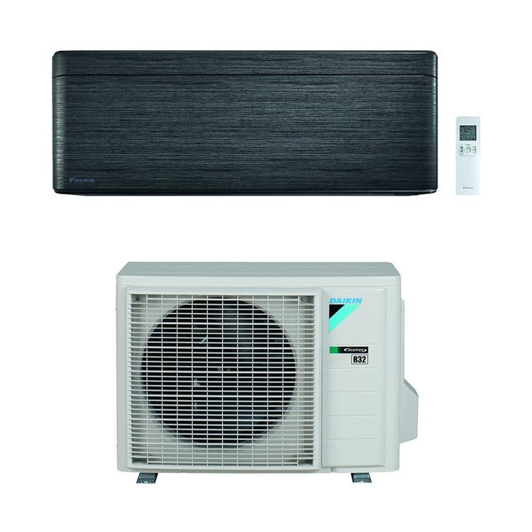 Daikin STYLISH R32 Climatizzatore a parete monosplit inverter Wi-Fi, blackwood | unità esterna 3.4 kW unità interna 12000 BTU SB.FTXA35BT/RXA