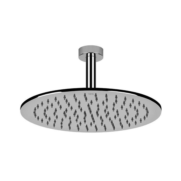Gessi EMPORIO SHOWER soffione anticalcare per doccia, a soffitto, orientabile, finitura cromo 47370#031