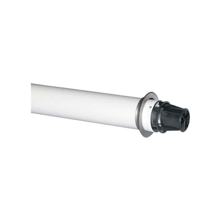 Baxi Terminale aspirazione/scarico orizzontale Ø 60/100 per installazione a parete (comprende rosone) KHG71410181