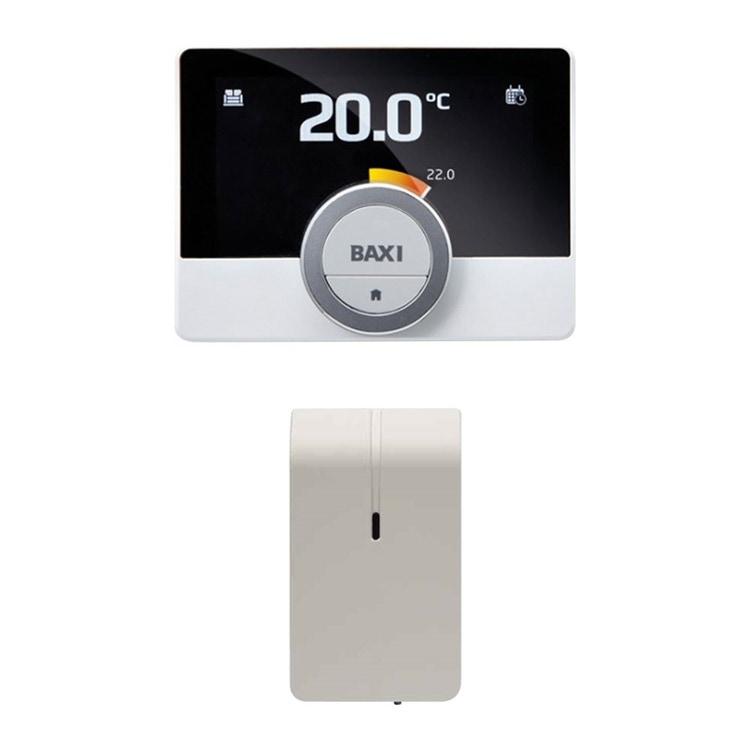 Baxi MAGO Cronotermostato modulante con Wi-Fi integrato + kit adattatore GTW16 (OpenTherm e ON/OFF) 7652303