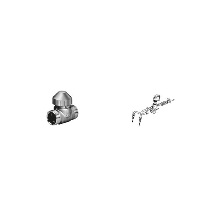 Sabiana Valvola a 2 vie ON-OFF con detentore a regolazione micrometrica + kit collegamento non montata (modello 02-12-22-32) 9079505W