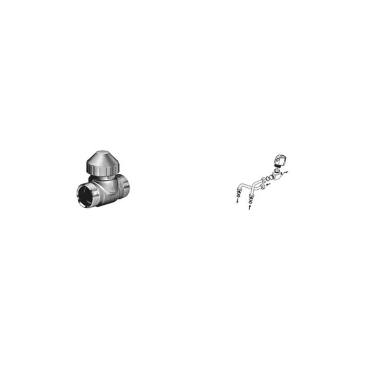 Sabiana Valvola a 2 vie ON-OFF + kit collegamento semplificato montata (modello 04-14-24-26-34-36) 9079537W