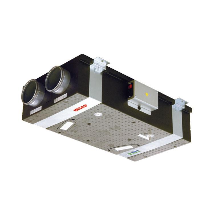 Irsap IRSAIR H 100 Unità di ventilazione a doppio flusso con recupero di calore, posizionamento orizzontale URED010HR0000