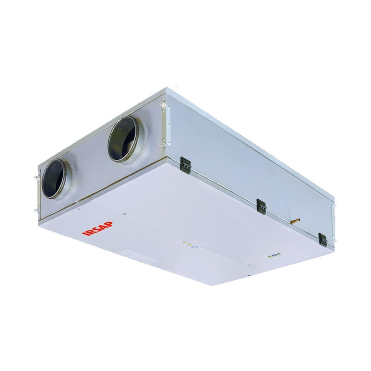 Irsap IRSAIR H 350 S Unità di ventilazione a doppio flusso con recupero di calore con controllo remoto, posizionamento orizzontale URED035HRS000