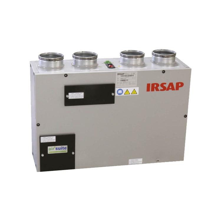 Irsap IRSAIR V 150 E Unità di ventilazione a doppio flusso con recupero di calore con controllo remoto Touch Screen, posizionamento verticale URED015VRE000