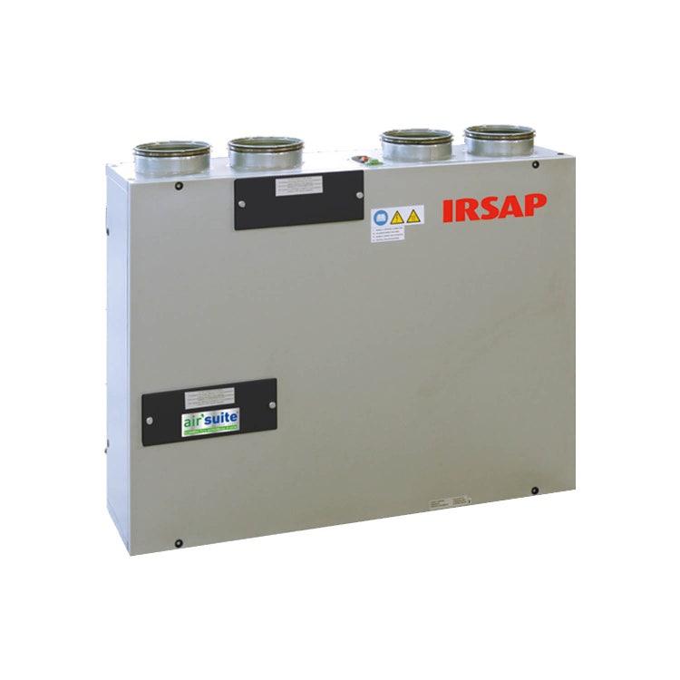 Irsap IRSAIR V 220 S Unità di ventilazione a doppio flusso con recupero di calore con controllo remoto, posizionamento verticale URED022VRS000