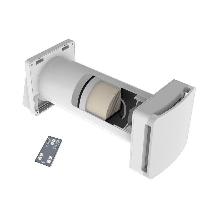 Irsap PULSE 60 Unità di ventilazione a flusso alternato con recupero di calore per sistemi di ventilazione meccanica controllata decentralizzati UREP00600S000