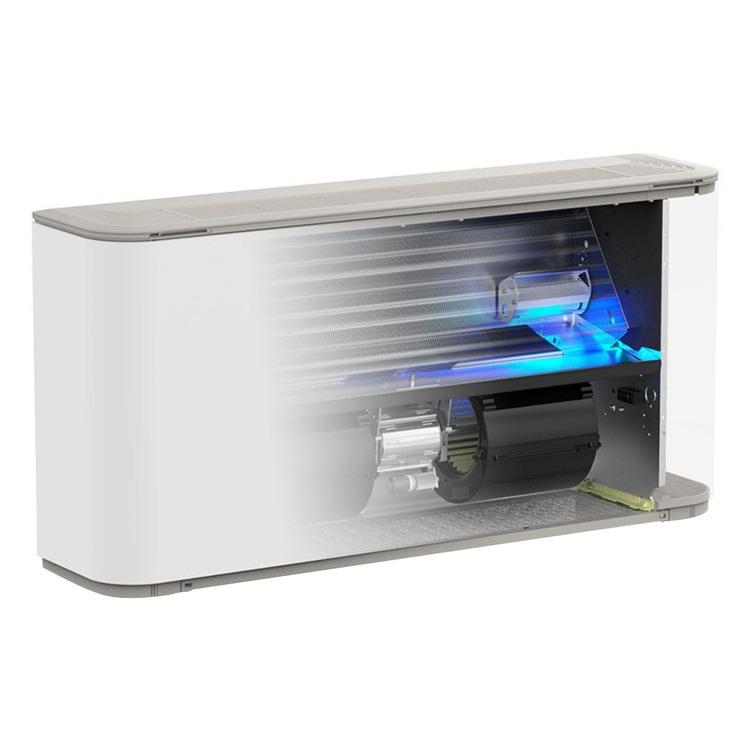 Aermec FCZ HT Ventilconvettore con dispositivo di depurazione aria, unità con mantello con termostato, installazione verticale per impianto 2 tubi (batteria principale standard) FCZ900HT