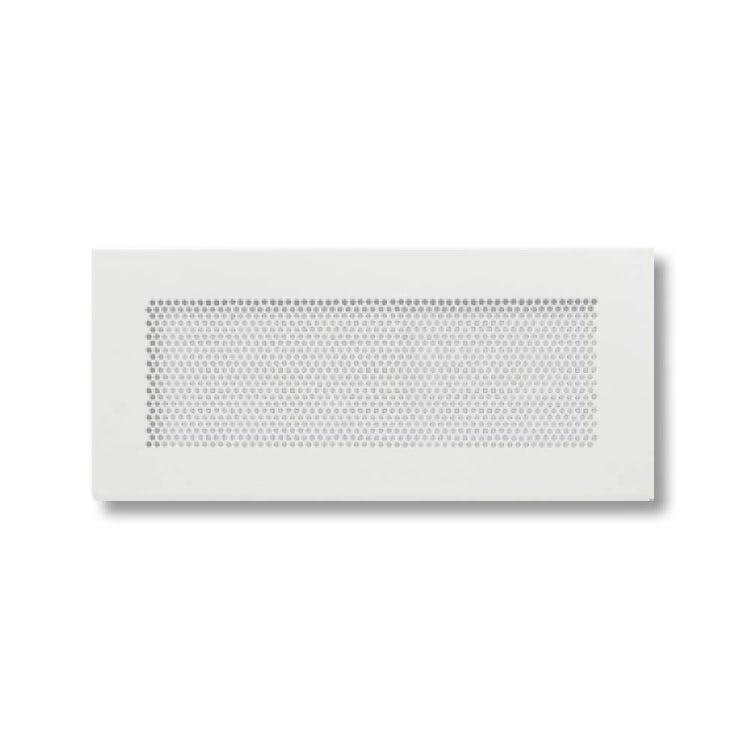 Irsap QUADRA A Griglia di immissione ed estrazione 450x100 in acciaio stampato per plenum MULTI, portata 90/120 m³/h TLZGRI04510MA0