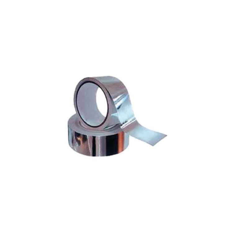 Irsap Nastro adesivo in alluminio lucido per la realizzazione della tenuta aeraulica delle giunzioni delle canalizzazioni, lunghezza 45 m A00NAS00