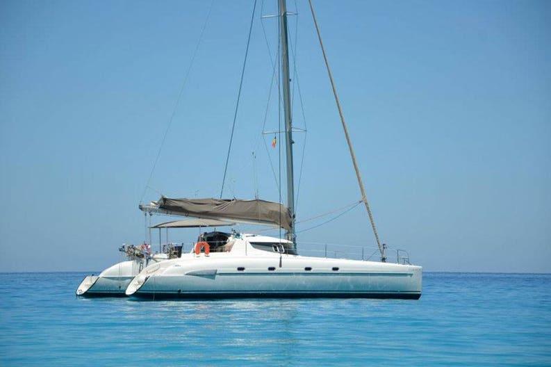 Catamaran Bahia 46 / Ouranos on navigation