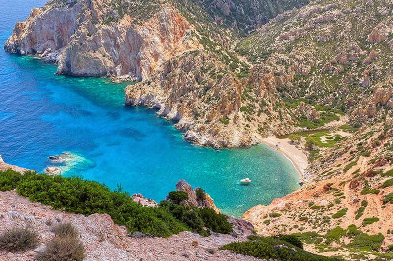 Greece Cyclades Penne Bianche