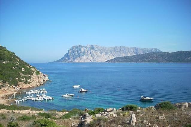 Italy Sardinia Tavolara island