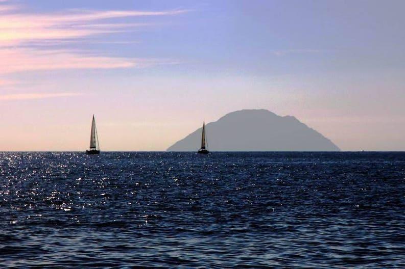 Italy Aeolian islands sailing