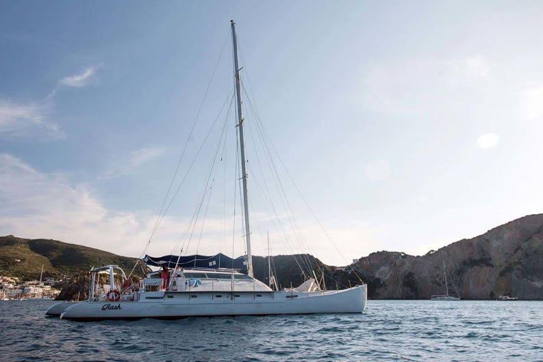 Flash catamaran