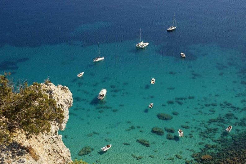 Sardinia Cagliari coast