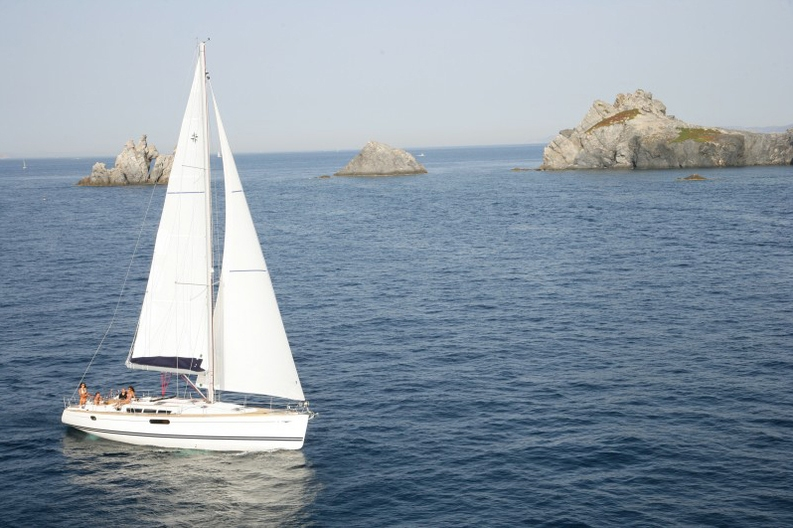 Sailing of the Sun Odyssey 49