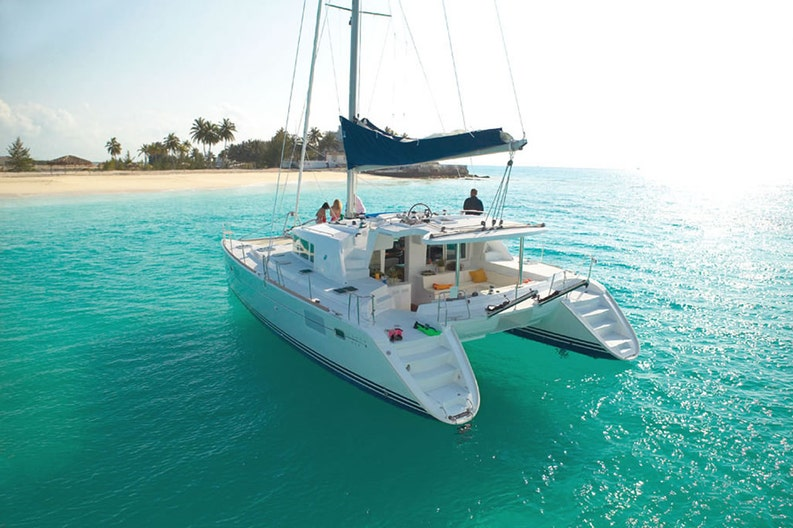 Anchoring of the Lagoon 440