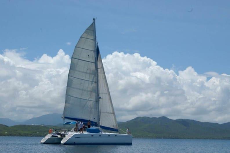 Sailing boat Aito on navigation